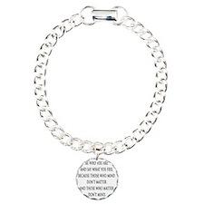 bewhoyouare Charm Bracelet, One Charm