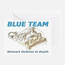 Blue Team - Network Defense Greeting Card