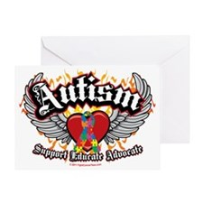 Autism-Wings Greeting Card