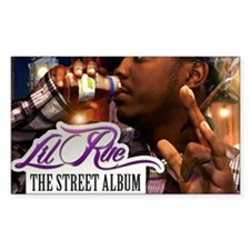 Lil Rue STreet Album poster 16 Decal