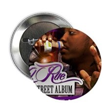 "Lil Rue STreet Album poster 16x20 2.25"" Button"