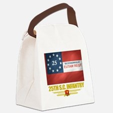 25th SC Infantry (flag 10) Canvas Lunch Bag