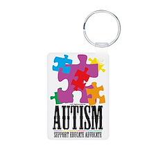 Autism-Western-2 Keychains