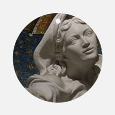 Mary Reaching Round Ornament