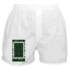 Forest_Swirl_solid_3G_case Boxer Shorts