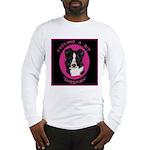 Border Collie Design Long Sleeve T-Shirt