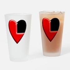 heartisinhyrule Drinking Glass