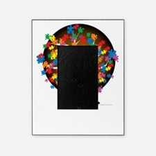 Autism-Tree-blk Picture Frame