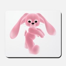 Pink Bunny - Baby Steps Mousepad