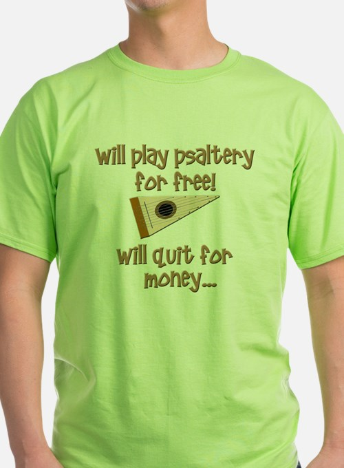 funny bowed psaltery T-Shirt