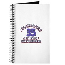 Awesome at 35 birthday designs Journal