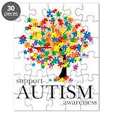 Autism tree Puzzles