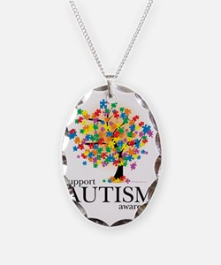Autism-Tree Necklace