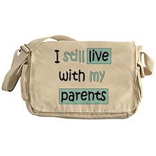 34-A-IT-B I still live with my paren Messenger Bag