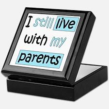 34-A-IT-B I still live with my parent Keepsake Box