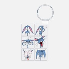 Easter Card Front Keychains