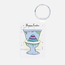 Easter Card Inside Keychains