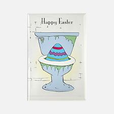 Easter Card Inside Rectangle Magnet