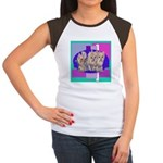 3 Yorkie Puppies Women's Cap Sleeve T-Shirt