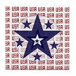 USA All Over Tile Coaster
