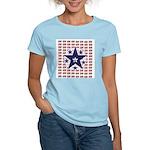 USA All Over Women's Pink T-Shirt