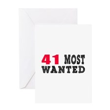 41 most wanted birthday designs Greeting Card
