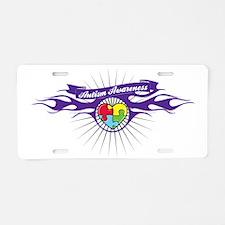 autism-aware-1 Aluminum License Plate
