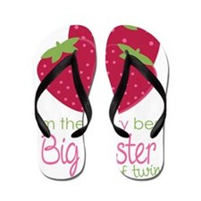 Berry Sister Twins Flip Flops