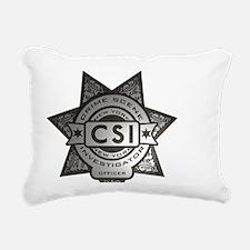 Badge.NY Rectangular Canvas Pillow