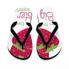 Berry Sister Triplets Flip Flops