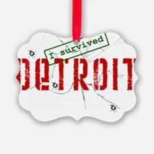 i_survived_detroit_trans Ornament