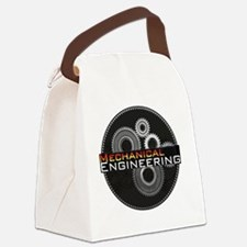 Mechanical Engineering Canvas Lunch Bag