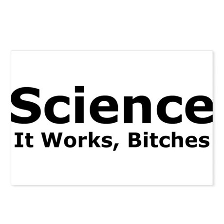 Science Bitches Postcards (Package of 8)