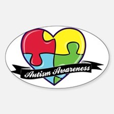 AutismAwareness-heart Decal