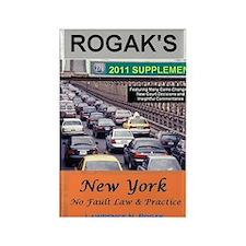 RogakBookCover2011 Rectangle Magnet