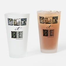LetItBe8x8 Drinking Glass