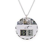 LetItBe6x6 Necklace Circle Charm