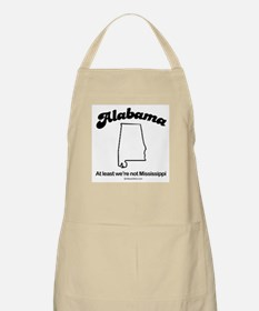 Alabama - At least we're not Mississippi BBQ Apron