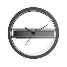 Steel Beam Wall Clock