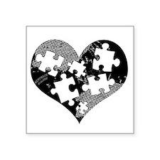 """autistic_14 Square Sticker 3"""" x 3"""""""