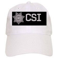badge.CSI.hat.classic Baseball Cap