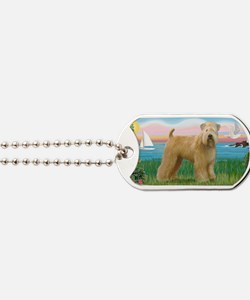 LIC-Lighthouse-WheatenTerrier Dog Tags
