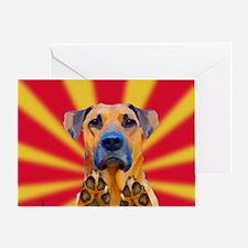 Bond Dog Greeting Card