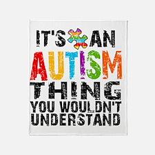 Autism Thing 2 Throw Blanket