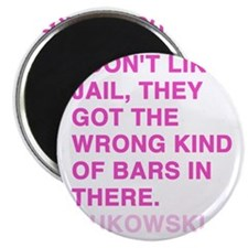 bukowski3_pink Magnet