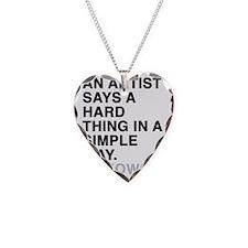 sticker_bukowski2 Necklace