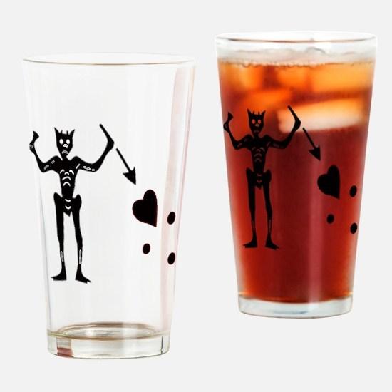 BLACKBEARD Drinking Glass