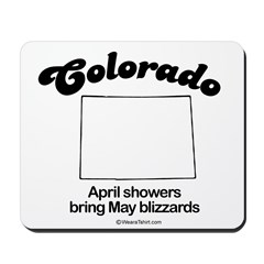 Colorado - april showers bring may blizzards Mouse
