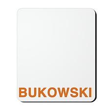 bukowski2_orange Mousepad