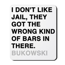 bukowski3 Mousepad